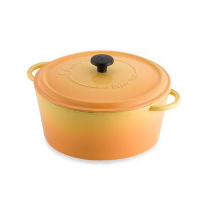 Fontignac Round 6.5-Quart Casserole in Yellow