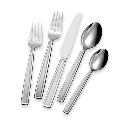 Gourmet Basics by Mikasa Dolcina 20-Piece Flatware Set