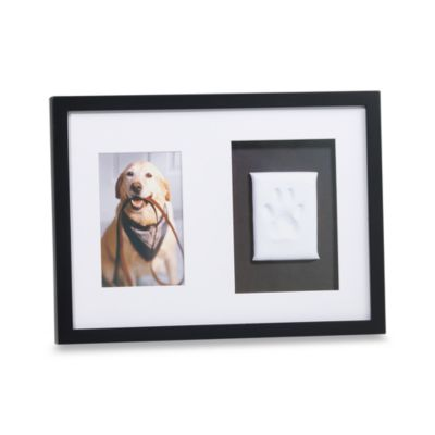 Pearhead™ Pawprints™ Black Wall Frame