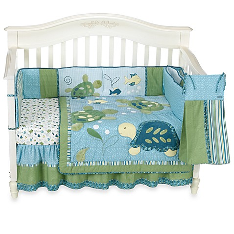 Cocalo Baby Turtle Reef 6 Piece Crib Bedding Set Buybuy