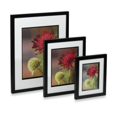 Via Venta Black Wood Photo Frame