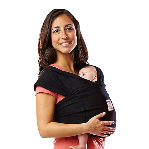 Baby K'tan® Large Baby Carrier in Black