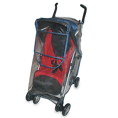 JPS Juvenile Deluxe Stroller Rain Cover with Clear Front Window