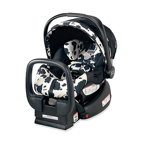 chaperone infant carrier car seat by britax cowmooflage. Black Bedroom Furniture Sets. Home Design Ideas