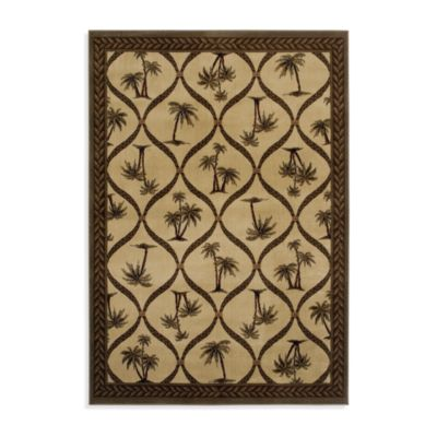 Tommy Bahama Onion Palm Room Size Rug - 65-Inch x 92-Inch