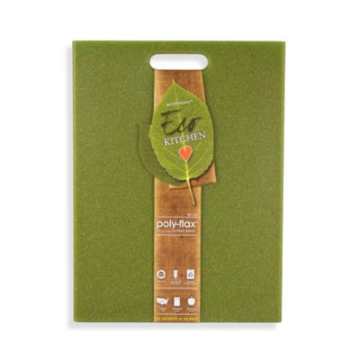Ecosmart Poly-Flax Green Cutting Board