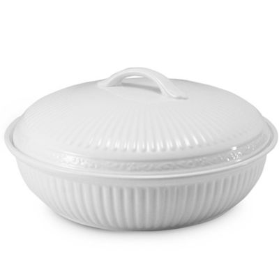 Mikasa® Italian Countryside 1 1/2-Quart Round Covered Casserole Dish