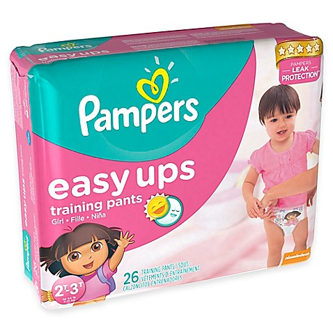 Pampers® Easy Ups® 26-Count Size 4 Trainers for Girls
