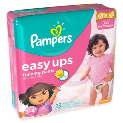 Pampers® Easy Ups® 23-Count Size 3T-4T Trainers for Girls