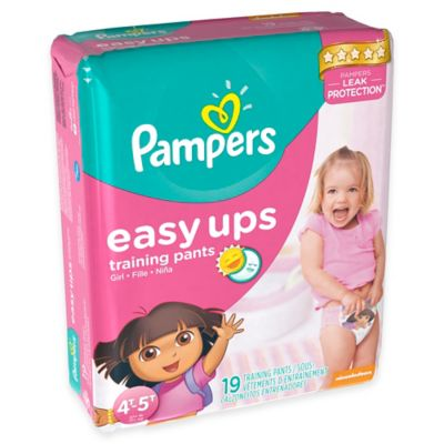 Pampers® Easy Ups® 19-Count Size 4T-5T Trainers for Girls