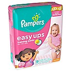 Pampers® Easy Ups® Size 6 19-Count Trainers for Girls