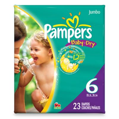 Pampers® Baby Dry™ 23-Count Size 6 Diapers