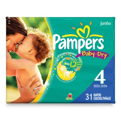 Pampers® Baby Dry™ 31-Count Size 4 Diapers