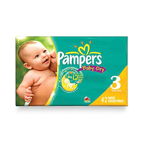 pampers baby dry 36 count size 3 diapers buybuy baby. Black Bedroom Furniture Sets. Home Design Ideas