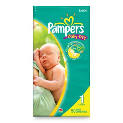 Pampers® Baby Dry™ 50-Count Size 1 Diapers