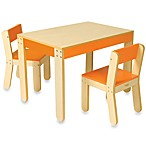 P'kolino® Little One's Orange Table and Chairs
