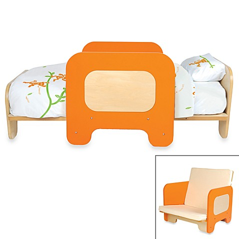 P'kolino® Orange 2-in-1 Toddler Bed and Chair