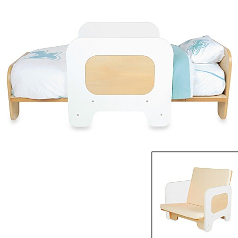 P'kolino® White 2-in-1 Toddler Bed and Chair