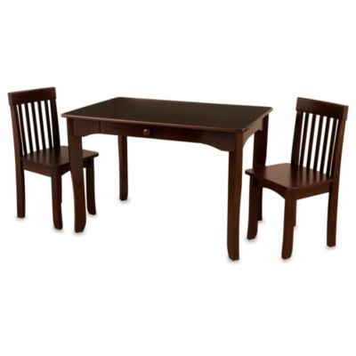 KidKraft® Avalon Table & Chair Set in Espresso