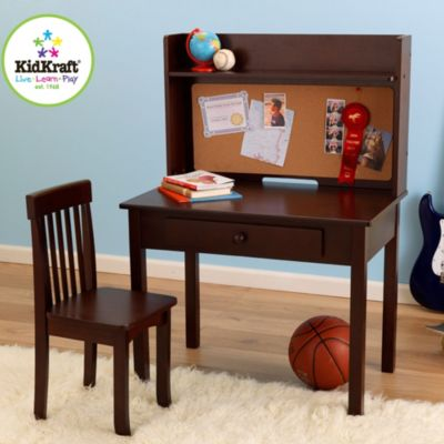 Kidkraft® Pin Board Desk & Chair in Espresso
