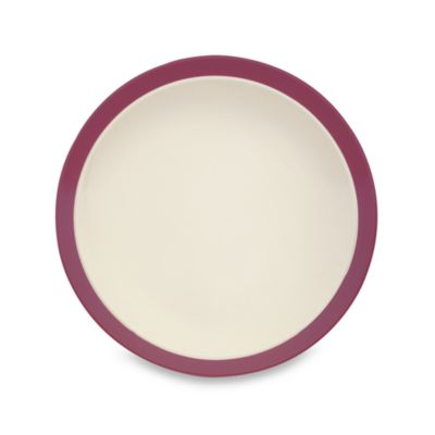 Noritake® Kona Burgundy 12-Inch Round Platter