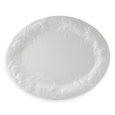 Tabletops Unlimited™ Harvest Oversized 21-Inch Oval Turkey Platter