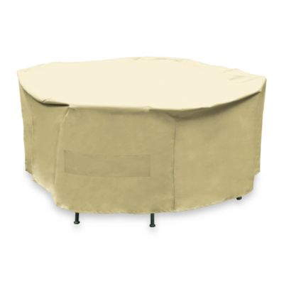 Premium Round Patio Dining Set Cover