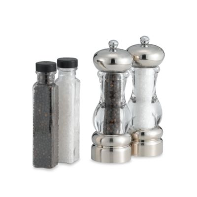Olde Thompson Pepper Mill and Salt Mill Set in Del Norte