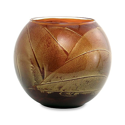 Esque Terracotta 4-Inch Globe Candle