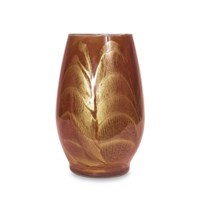 Esque Terracotta 9-Inch Vase Candle