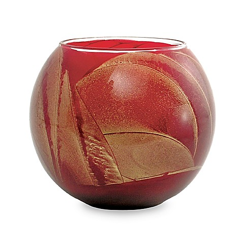 Esque Cranberry 4-Inch Globe Candle