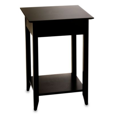 American Heritage End Table in Black