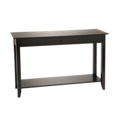 American Heritage Console Table in Black
