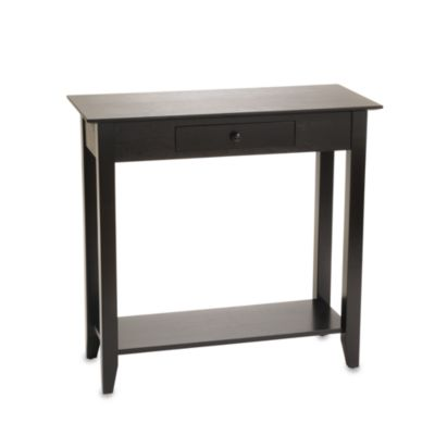 American Heritage Hall Table in Black