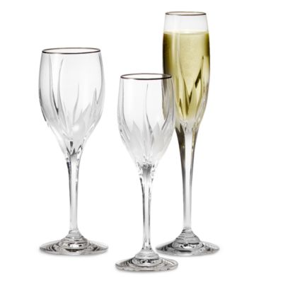 Platinum Trim Wine Glass