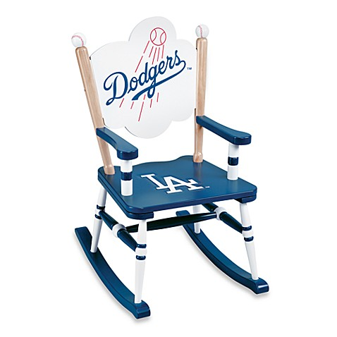 Major League Baseball Dodgers Rocking Chair