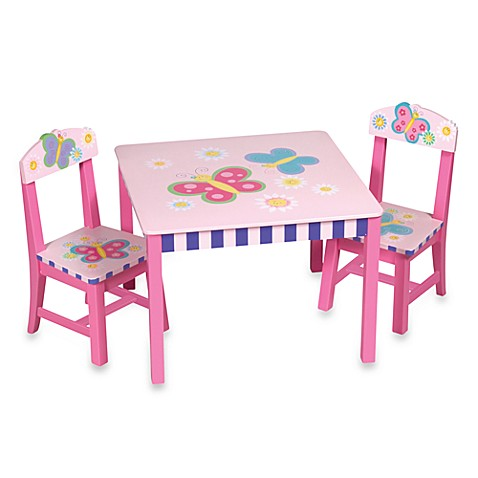 Buttefly Table and Chair Set