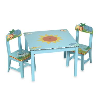 Guidecraft Safari Table and Chair Set