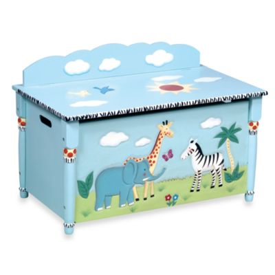 Guidecraft Safari Toy Box