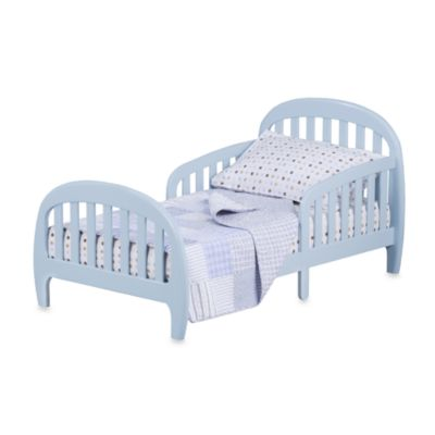 Simmons® Slumbertime 2-in-1 Loft Convertible Toddler Bed in Blue Sky