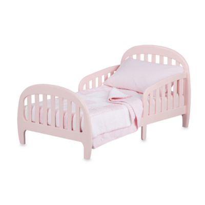 Simmons® Slumbertime 2-in-1 Loft Convertible Toddler Bed in Pink