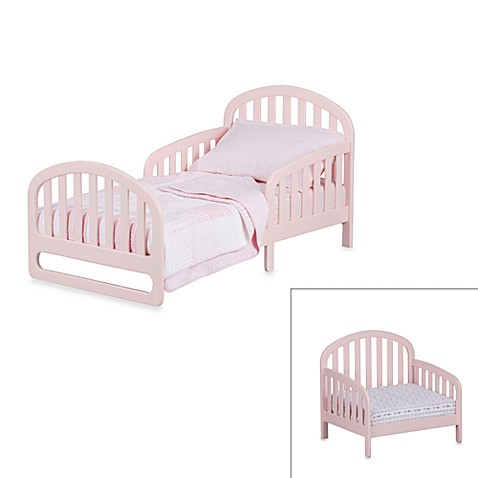 Simmons® Slumbertime 2-in-1 Urban Convertible Toddler Bed in Pink