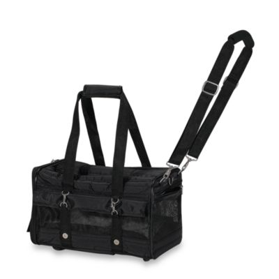 Black Wheeled Pet Carriers
