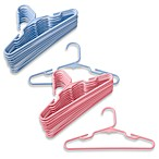 image of Plastic Children's Clothes Hangers (Set of 10)