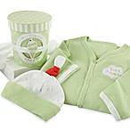 Baby Aspen Sweet Dreamzzz A Pint of PJs Sleep-Time Gift Set 100% Cotton in Lime