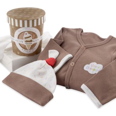 Kate Aspen® Sweet Dreamzzz A Pint of PJs Sleep-Time Gift Set in Chocolate
