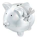 Carter's® Silver Ceramic Keepsake Piggy Bank