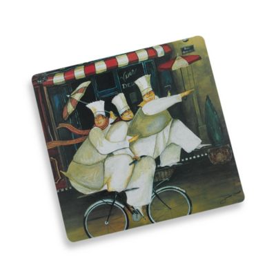 Tour de Paris Three Chefs Placemat