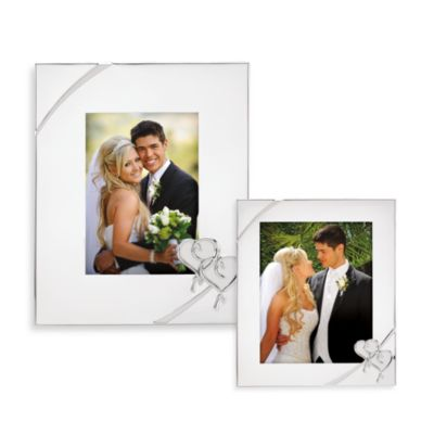 Lenox® True Love 8-Inch x 10-Inch Silver Plated Frame