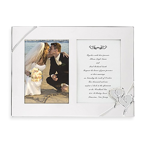 Lenox® True Love Double Invitation Frame